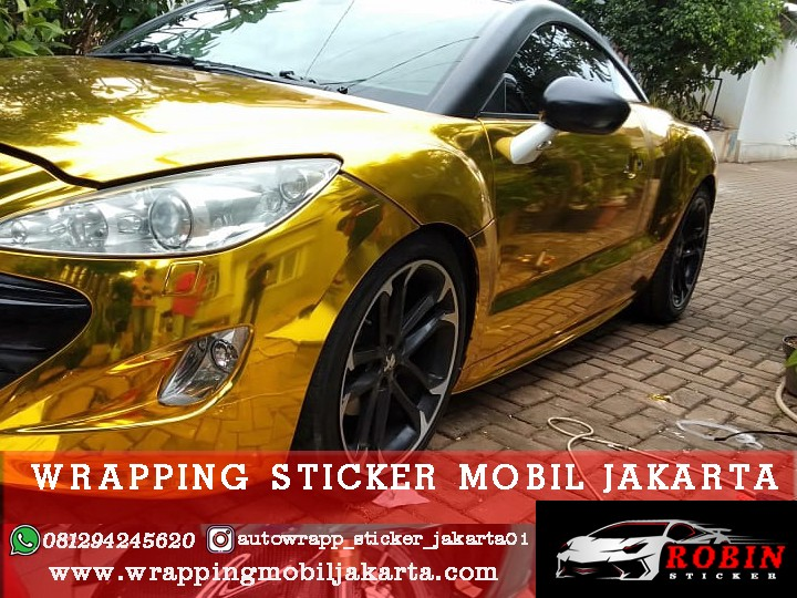 PASANG WRAPPING STICKER MOBIL JAKARTA